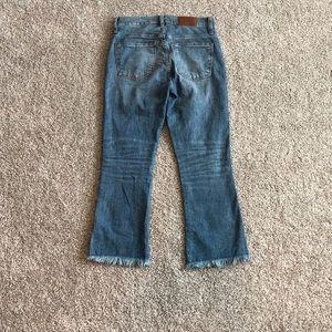 Madewell Jeans - Madewell petite Cali denim-boot jeans